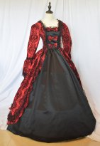 New Gothic Prom Dress Marie Antoinette Dress Up Games