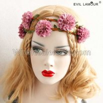 Lovely Bride Flowes Headband Masquerade Accessories