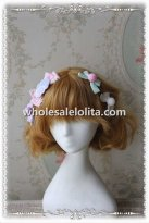 INFANTA Cute Bow Lolita Hair Clip Sets