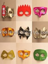 Cartoon Carnival Half Face Masquerade Mask