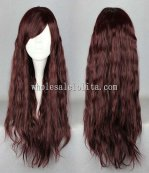 New Fashion Chocolate Long Lolita Wig