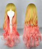 Japanese Harajuku Yellow And Pink Lolita Long Wigs