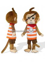 Adult Pirate Monkey Costume