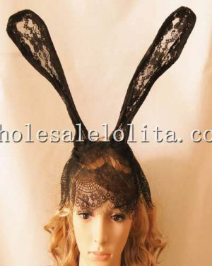 Budget Cute Lace Mask with Rabbit Ear