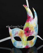 Italy CignoCamouflage Masquerade Masks with Pattern