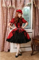 Hot Sale Vintage Cotton Gothic Lolita Dress New Style
