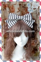 INFANTA Stripes Bow Sweet Lolita KC