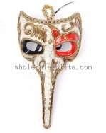 Cosplay and Parties Long Nosed Venetian Masquerade Mask for Men