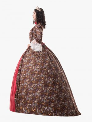 Party Dress Baroque Victorian Dress Victorian Women Dress Period Dress Ball Gown