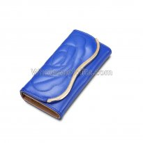 Long Clutch Phone Famous Designer Lady Female Wallet Women Luxury Brand Purse Carteras Portomonee Walet Money Bag Cuzdan Vallet Blue