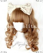 Party Girls Long Brown Wavy Wig