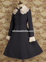 Autumn/Winter Wool Elegant Ladies Classic Lolita Coat