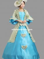 Historical Marie Antoinette Inspired Ball Gown Stage Costume Many Colors N0
