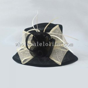 2014 Summer Flax Flower British Style Elegant Women's Bucket Hat
