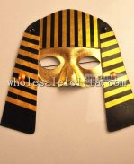 Gold Venetian Cosplay Masquerade Mask for Halloween