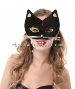 Cosplay/Hallowen Black Cat Shaped Masquerade Mask