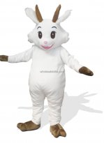 Hot Sale Custom-made White Goat Costume