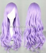 Four Color Japanese Harajuku Lolita Wigs Multi-color Long Curly Hair