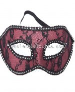 Elegant Halloween Masquerade Lace Mask with Braiding Eyelashes