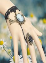 Gothic Royal Bracelet with Ring MTB131
