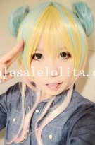 Cosplay Ice Cream Color Cute Lolita Wig