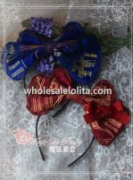 Salut d'Amour Melody Series KC Big Bow Lolita Headband