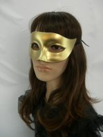 Golden Masquerade Mask & Dance Performances Mask