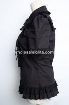 Cool Black Gothic Lolita Blouse