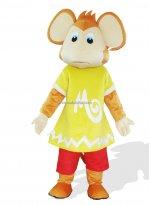 Monkey In Yellow Clothes Plush Adult Jungle Animal Costume