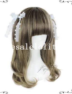 Cosplay Cute BOBO Curly Wig For Girls