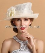 2014 Summer Flower British Style Formal Dress Hat