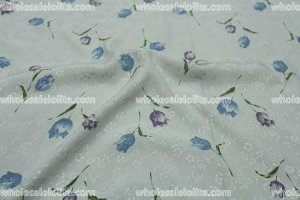 High-End 100% Silk Jacquard Fabric 2 Colors