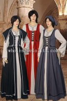 Women Renaissance Handmade Dress Costume Gown Medieval Clothing Cotton