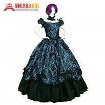 High Quality Southern Belle Old West Victorian Dress Period Outfit Masquerade Ball Gown Reenactment Clothing