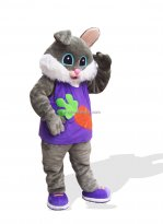 Carrot Rabbit Plush Adult Bunny Costume