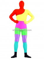 Multicolor Lycra Spandex Zentai Suits