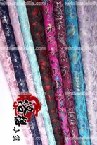 LY Floral Brocade Fabric 9 Colors