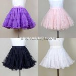 4 Colors Sweet Tulle Lolita Petticoat