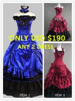 Combination Big Sale!! Any 2 Dresses $190