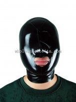 Latex Rubber Gummi Maske Hood Mask Open Mouth and Nose
