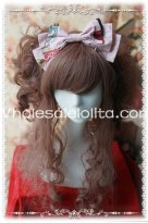 Sweet Pink KC Big Bow Lolita HeadBand