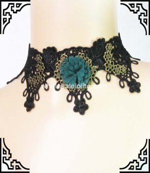 Vintage Gothic Dress Up Necklace Party Necklace