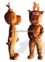 Big Head Plush Adult Bear Mascot Costume
