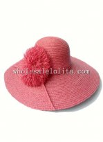 2014 Summer Raffia Straw Big Brim Hat Sun Protection Hat