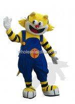Yellow Cat Costume for Adults