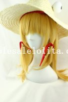 Charm Cosplay Long Straight Blonde Hair Wig