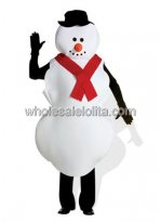Adult Christmas Snowman Costume