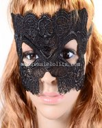 Hot Sale Elegant Black Lace Mask