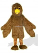 Brown Eagle Plush Adult Bird Costume