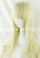Wavy Long Beautiful Anime Mixed Color Full Wig for Cosplay